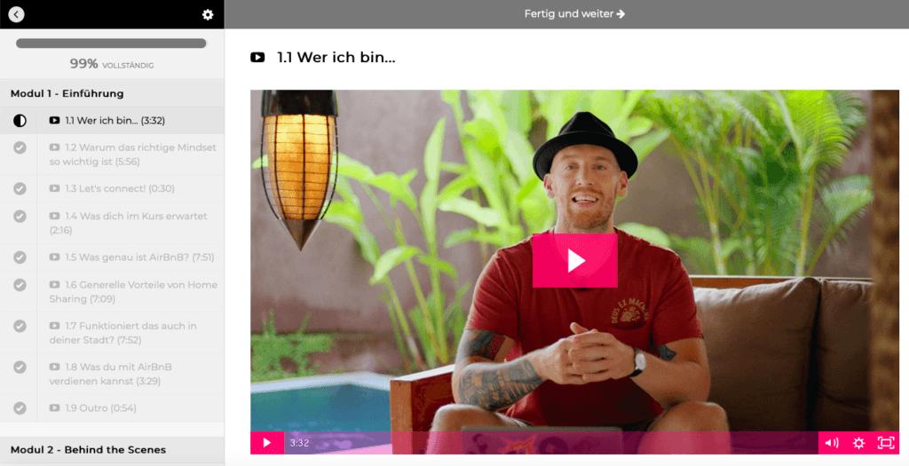 Airbnb-Business aufbauen: Mit Airbnb um die Welt – Kurs von Bastian Barami