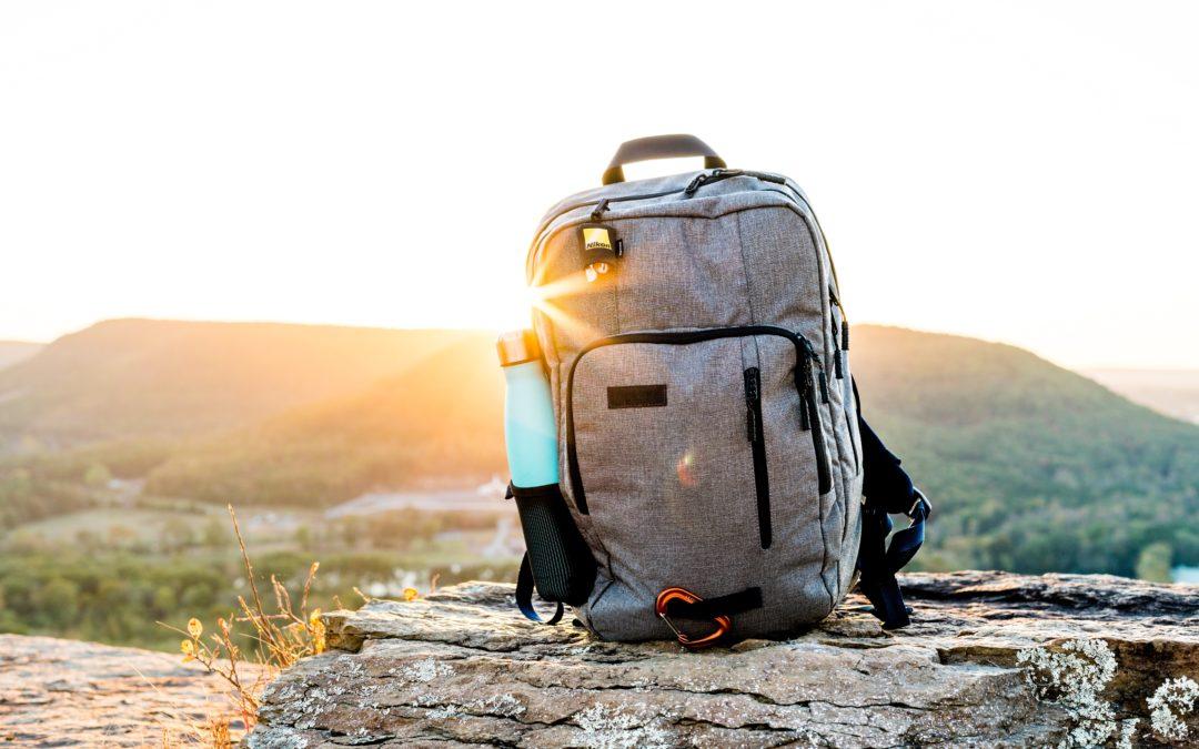 Reisen nur mit Handgepäck Rucksack