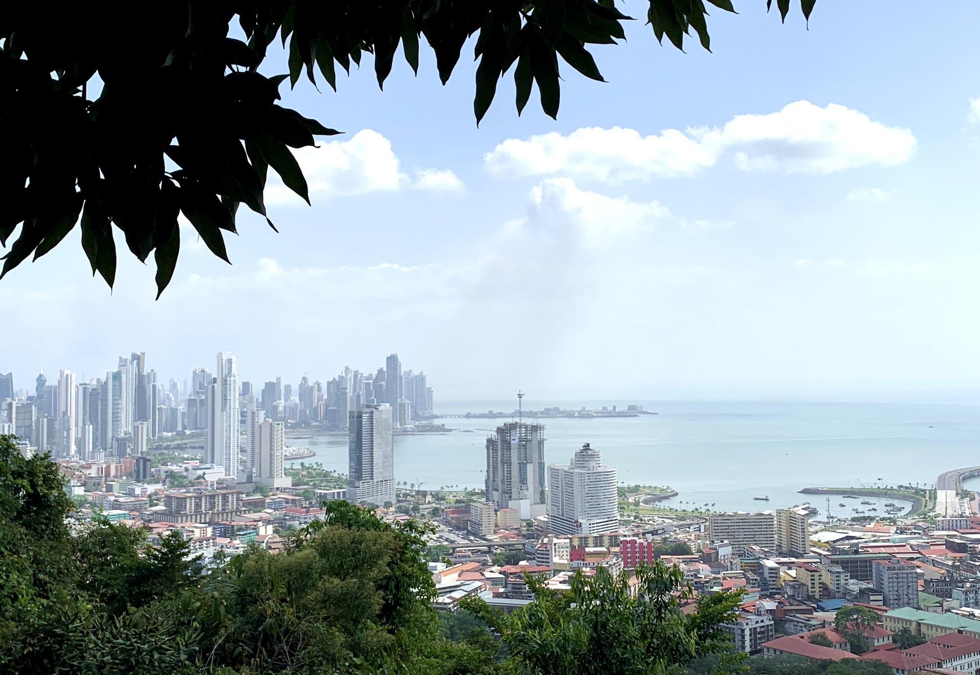 Panama City Ancon Hill Aussicht