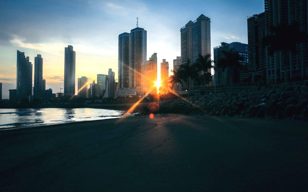 Panama City Panama Stadt