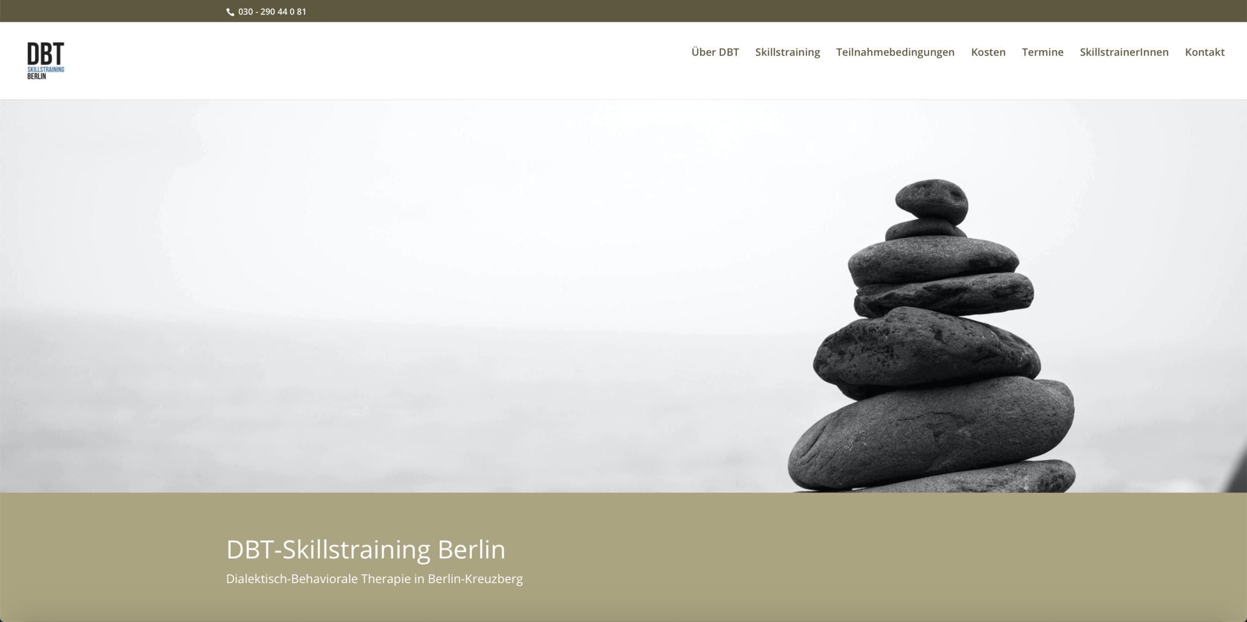 dbt-skillstraining Berlin Website